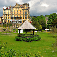Parade Gardens in Bath, England<br />