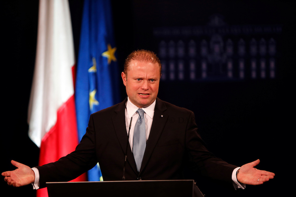 Press conference by PM Joseph Muscat on local council elections