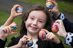 Repro Free:<br /> Ella Keegan is pictured at the launch of Ballyfree Free Range Eggs &ldquo;Shrinkies&rdquo;. A unique little cartoon character sleeve the fits onto an egg and shrinks onto it while boiling, making the humble egg a bit more exciting for small people.  <br />  <br /> Eggs are one of the few grocery categories that have enjoyed steady growth over the last few years with sales increased by +6% (Kantar Worldpanel Aug 2014).  Ballyfree Free Range eggs are hoping to capitalise on this increasing demand and encourage parents of young children to eat more eggs. Picture Andres Poveda<br />  <br /> For Further info:<br /> Aisling Roche<br /> 087 9881583<br /> aisling@armsmarketing.com