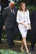 101016 Queen Letizia attends 'A new Ibero-American cooperation' Seminar
