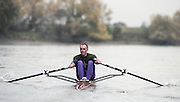 "Putney. London. GREAT BRITAIN;  NED LM1X. Frans GOEBEL<br /> <br /> 1995 Thames World Sculling Championships, Putney to Mortlake. Championship Course, River Thames.<br /> <br /> [Mandatory Credit; ""Photo, Peter Spurrier/Intersport-images]<br /> <br /> 1995 Thames World Sculling Championships, Putney to Mortlake. Championship Course, River Thames.<br /> <br /> [Mandatory Credit; ""Photo, Peter Spurrier/Intersport-images]"