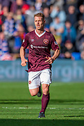 Oliver Bozanic (#7) of Heart of Midlothian FC during the Ladbrokes Scottish Premiership match between Heart of Midlothian and Rangers FC at Tynecastle Park, Edinburgh, Scotland on 20 October 2019.
