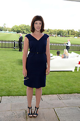 Actress ALEXANDRA ROACH at the Audi International Polo at Guards Polo Windsor Great Park, Egham, Surrey on 28th July 2013.