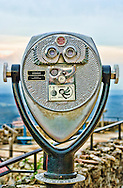 Binoculars at Rock City.