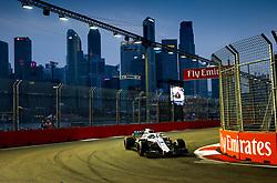 September 15, 2018 - Singapore, Singapore - Motorsports: FIA Formula One World Championship 2018, Grand Prix of Singapore, .#18 Lance Stroll (CAN, Williams Martini Racing) (Credit Image: © Hoch Zwei via ZUMA Wire)