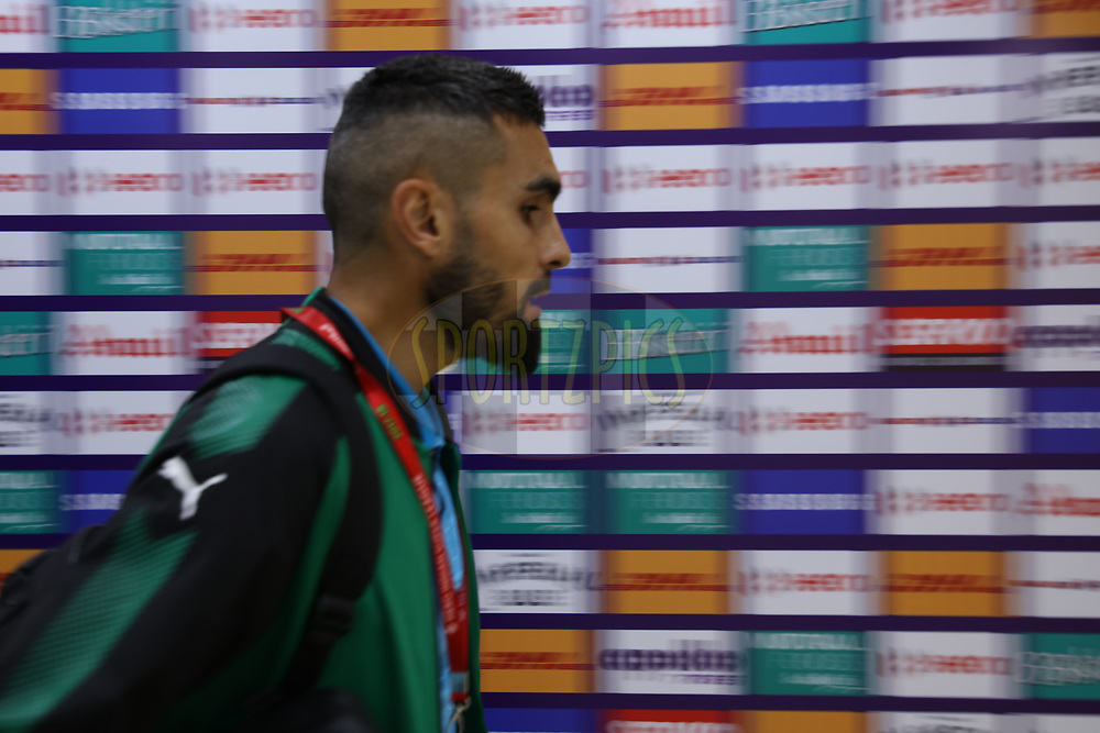 Bengaluru FC team arrival at stadium during match 19 of the Hero Indian Super League between NorthEast United FC and Bengaluru FC held at the Indira Gandhi Athletic Stadium, Guwahati India on the 8th December 2017<br /> <br /> Photo by: Saikat Das  / ISL / SPORTZPICS