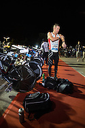 Cameron BROWN (NZL). Ironman Asia Pacific Championship Melbourne. Triathlon. Frankston And St Kilda, Melbourne, Victoria, Australia. 24/03/2013. Photo By Lucas Wroe