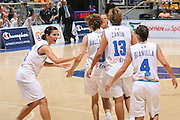 DESCRIZIONE : Bologna Qualificazione Eurobasket Women 2009 Italia Polonia <br /> GIOCATORE : Mariachiara Franchini Team Italia <br /> SQUADRA : Nazionale Italia Donne <br /> EVENTO : Raduno Collegiale Nazionale Femminile<br /> GARA : Italia Polonia Italy Poland <br /> DATA : 30/08/2008 <br /> CATEGORIA : esultanza <br /> SPORT : Pallacanestro <br /> AUTORE : Agenzia Ciamillo-Castoria/M.Marchi <br /> Galleria : Fip Nazionali 2008 <br /> Fotonotizia : Bologna Qualificazione Eurobasket Women 2009 Italia Polonia <br /> Predefinita :