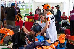 Marijke Visser, (NED), Laiza de Jalima - Endurance - Alltech FEI World Equestrian Games™ 2014 - Normandy, France.<br /> © Hippo Foto Team - Leanjo de Koster<br /> 25/06/14