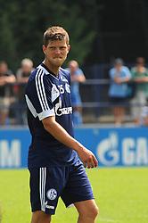 16.07.2013, Trainingsgelaende, Veltins Arena, GER, 1. FBL, FC Schalke 04 Training, im Bild Klaas Jan Huntelaar ( Schalke 04/ Portrait ), // during a Training Session of German Bundesliga Club Fc Schalke 04 at the Training Ground, Veltins Arena, Germany on 2013/07/16. EXPA Pictures © 2013, PhotoCredit: EXPA/ Eibner/ Thomas Thienel<br /> <br /> ***** ATTENTION - OUT OF GER *****