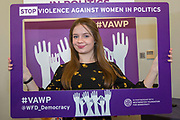 Jasmin Beckett, National Executive Committee Youth Representative, Labour Party) 'Violence Against Women in Politics' Conference, organised by all the UK political parties in partnership with the Westminster Foundation for Democracy, 19th and 20th of March 2018, central London, UK.  (Please credit any image use with: © Andy Aitchison / WFD