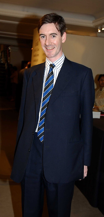 The HON.JACOB REES-MOGG  at auctioneers Sotheby's Summer party held at their showrooms in 34-35 New Bond Street, London W1 on 6th June 2005.<br /><br />NON EXCLUSIVE - WORLD RIGHTS