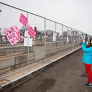 during the Women's March on Washington where an anticipated 200,000 people turned into an estimated 500,000 to 1 million people, on Saturday, January 21, 2017.  John Boal Photography