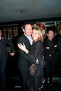 Emma Hewitt; Jason Isaacs, The afterparty for the Terrence Higgins Supper Club. Floridita, Wardour St. London. 3 November 2009