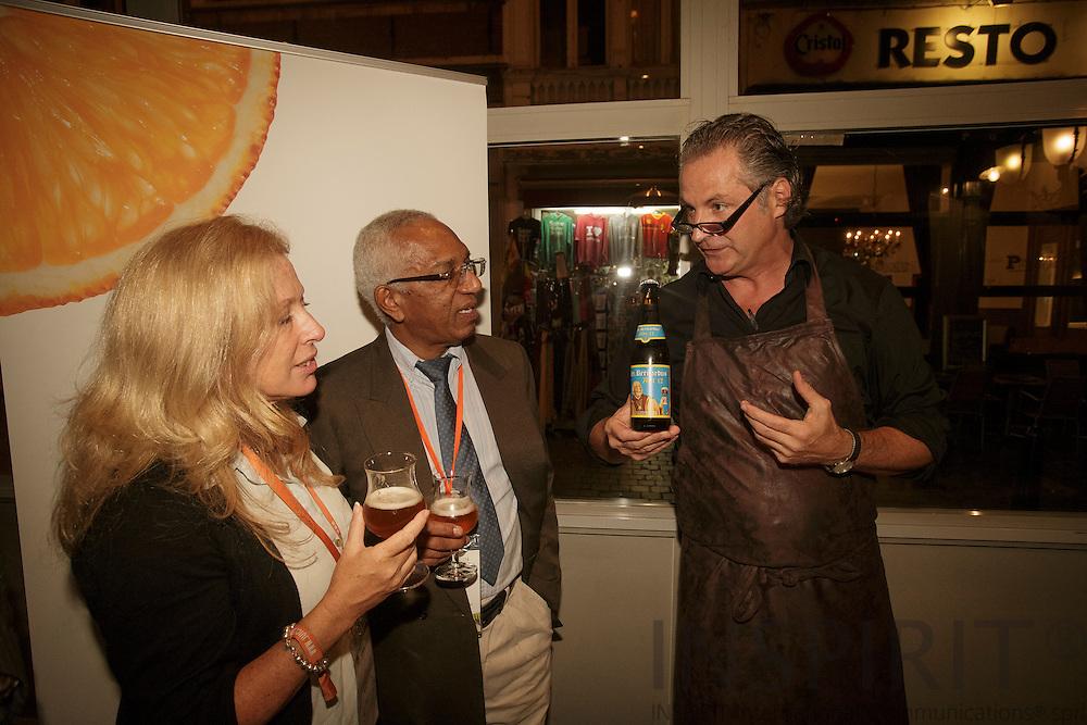 Networking Evening at the Juice Summit in Antwerp 15 - 16 October 2014. Photo: Erik Luntang