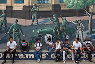 wall painting about revolution in nicaragua