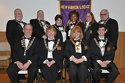 Group Photo. Installation of Officers New Haven Elks Club Lodge # 25. April 9, 2011