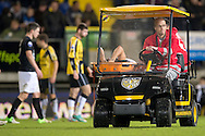 Onderwerp/Subject: RKC Waalwijk - Eredivisie<br /> Reklame:  <br /> Club/Team/Country: <br /> Seizoen/Season: 2012/2013<br /> FOTO/PHOTO: RKC Waalwijk's Rodney SNEIJDER leaving the pitch due to injury. (Photo by PICS UNITED)<br /> <br /> Trefwoorden/Keywords: <br /> #05 $94 ±1342772543138 ±1342772543138<br /> Photo- & Copyrights © PICS UNITED <br /> P.O. Box 7164 - 5605 BE  EINDHOVEN (THE NETHERLANDS) <br /> Phone +31 (0)40 296 28 00 <br /> Fax +31 (0) 40 248 47 43 <br /> http://www.pics-united.com <br /> e-mail : sales@pics-united.com (If you would like to raise any issues regarding any aspects of products / service of PICS UNITED) or <br /> e-mail : sales@pics-united.com   <br /> <br /> ATTENTIE: <br /> Publicatie ook bij aanbieding door derden is slechts toegestaan na verkregen toestemming van Pics United. <br /> VOLLEDIGE NAAMSVERMELDING IS VERPLICHT! (© PICS UNITED/Naam Fotograaf, zie veld 4 van de bestandsinfo 'credits') <br /> ATTENTION:  <br /> © Pics United. Reproduction/publication of this photo by any parties is only permitted after authorisation is sought and obtained from  PICS UNITED- THE NETHERLANDS