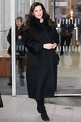 Actress Liv Tyler leaves the Chris Evans Breakfast show at Virgin Radio in London. London, February 08 2019.