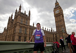 © Licensed to London News Pictures. 16/04/2012. London, U.K..Chris Kelly MP for Dudley South..Shadow Chancellor Ed Balls and MPs Edward Timpson, Alun Cairns, Graham Evans, Chris Kelly, Phillip Lee, and Jack Lopresti  in their running kit ahead of Sunday's London Marathon..Photo credit : Rich Bowen/LNP