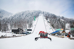 Preparation of Planica Hill 2 days before FIS Ski Flying World Cup, on March 20, 2018 in Planica, Ratece, Slovenia. Photo by Ziga Zupan / Sportida