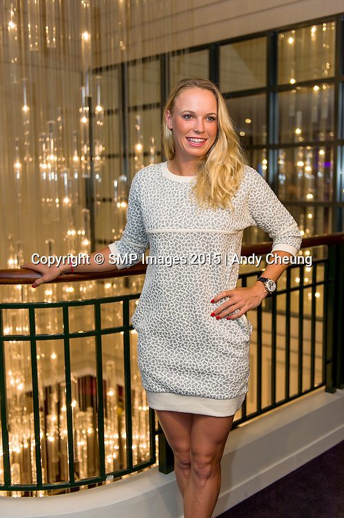 Caroline Wozniacki. PLAYERS' PARTY 2015 APIA SYDNEY INTERNATIONAL Andy Cheung – SMP IMAGES.COM - 11th January 2015.