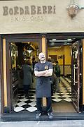 Inaki the chef of Borda Berri.