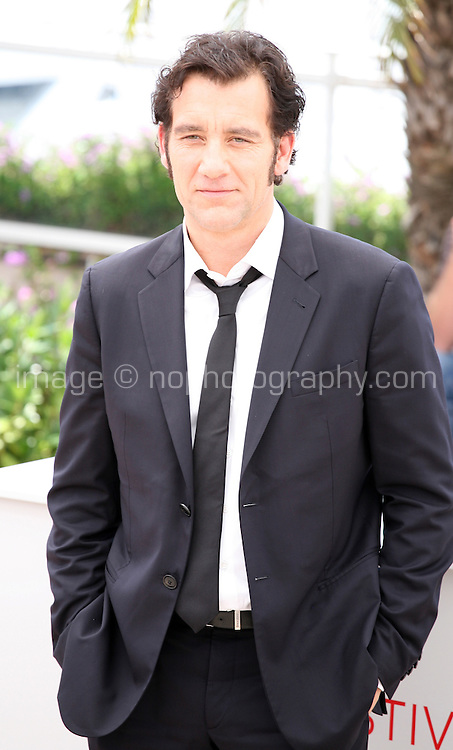 actor Clive Owen at the Heminway & Gellhorn photocall at the 65th Cannes Film Festival France. Friday 25th May 2012 in Cannes Film Festival, France.