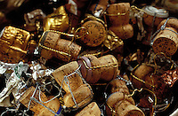 champagne corks - Photograph by Owen Franken