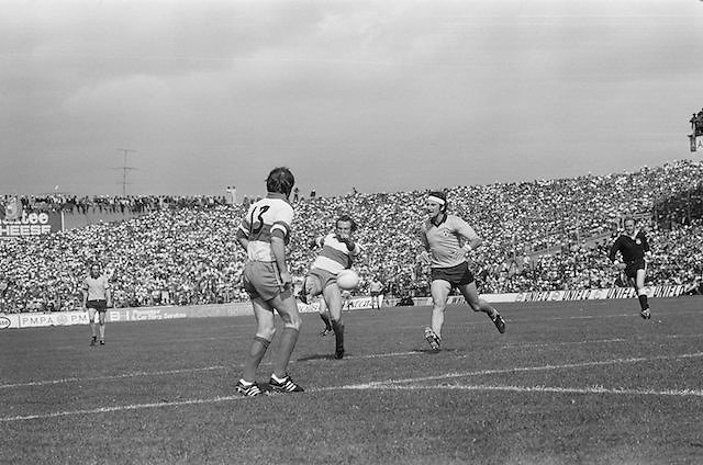 All-Ireland Senior Football Semi-Final, Dublin v Derry at Croke Park..24.08.1975