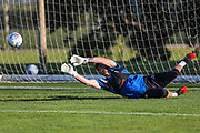 Forest Green Rovers goalkeeper Harry Pickering(24) during the Forest Green Rovers Training session at Browns Sport and Leisure Club, Vilamoura, Portugal on 23 July 2017. Photo by Shane Healey.