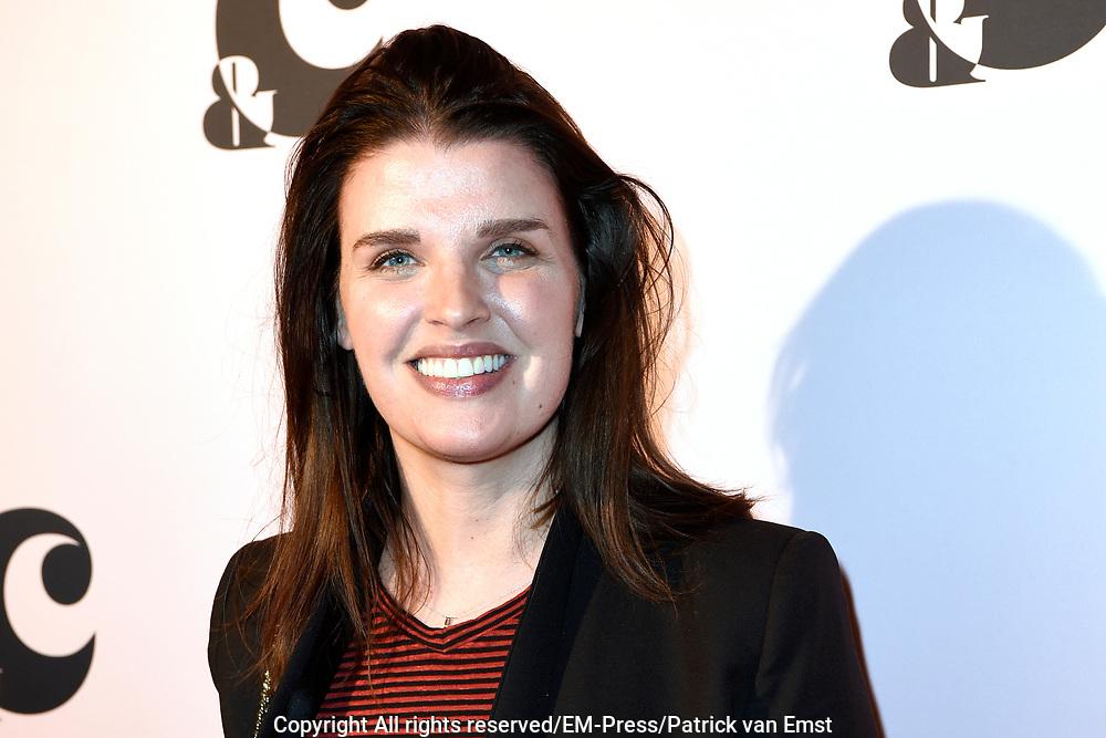 Lancering van &amp;C het nieuwe mediaplatform van Chantal Janzen bij de Adam Toren , Amsterdam.<br /> <br /> op de foto:  Styliste Manon Meijers