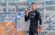 Mikkel Bruhn (FC Helsingør) under træningskampen mellem Lyngby Boldklub og FC Helsingør den 3. juli 2019 på Lyngby Stadion (Foto: Claus Birch)
