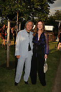 ANISH AND SUZANNE KAPOOR, The Summer Party in association with Swarovski. Co-Chairs: Zaha Hadid and Dennis Hopper, Serpentine Gallery. London. 11 July 2007. <br /> -DO NOT ARCHIVE-© Copyright Photograph by Dafydd Jones. 248 Clapham Rd. London SW9 0PZ. Tel 0207 820 0771. www.dafjones.com.