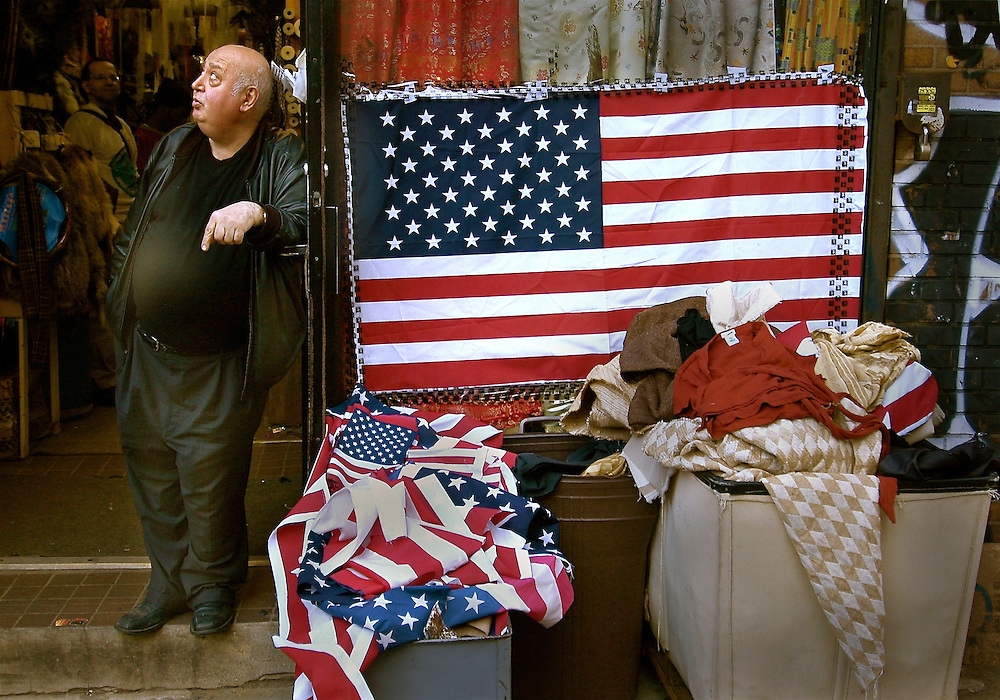 Flag shop in NYC.