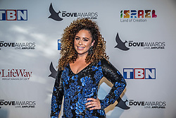 October 11, 2016 - Nashville, Tennessee, USA - Blanca at the 47th Annual GMA Dove Awards  in Nashville, TN at Allen Arena on the campus of Lipscomb University.  The GMA Dove Awards is an awards show produced by the Gospel Music Association. (Credit Image: © Jason Walle via ZUMA Wire)