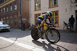 Georgia Williams at Boels Rental Ladies Tour Prologue a 4.3 km individual time trial in Wageningen, Netherlands on August 29, 2017. (Photo by Sean Robinson/Velofocus)