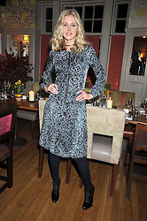 DONNA AIR at a dinner in aid of the Soil Association held at Bumpkin, 102 Old Brompton Road, London SW7 on 11th March 2009.