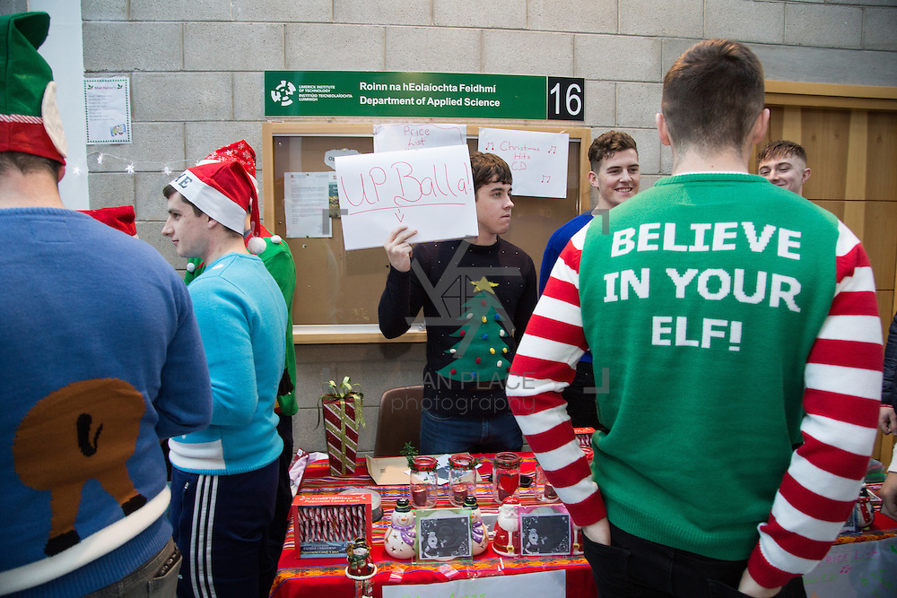 30.11.2016           <br /> LIT President Vincent Cunnane was a member of a large crowd who took part in a Mannequin Challenge on the street in LIT this morning. The recent online trend was performed as part of the opening ceremony of the 2016 LIT Christmas MarketLink. The event which has become an annual fixture on the LIT calendar has raised thousands of euros for various charities over its eight years to date. <br /> <br /> Scenes during the LIT Mannequin challenge. Picture: Alan Place
