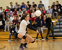 St Pauls School varsity and junior varsity volleyball with Andover. ©2017 Karen Bobotas Photographer