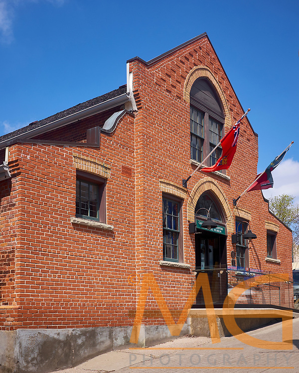 The Grey &amp; Simcoe Foresters Regimental Museum has recently emerged as a cultural gem in downtown Barrie.<br /> The historic building is located at 36 Mulcaster St., one block north of the restaurants and shops of Dunlop St. and directly across from the MacLaren Art Centre.<br /> <br /> This Militia Drill Hall was erected in 1888-89, following the fiery destruction of the original Drill Shed of the 35th Battalion of Infantry (Simcoe Foresters) in 1885. The building has undergone extensive internal restorations, executed by volunteers and has been fitted out with new wall-to-wall exhibit cabinetry, generously provided by a grant from Molson Coors Canada.<br /> <br /> http://thegreyandsimcoeforesters.org/jsite/index.php/museum-history-and-heritage/regimental-museum