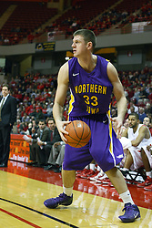 12 January 2011: Austin Pehl during an NCAA Missouri Valley Conference men's basketball game between the Northern Iowa Panthers and the Illinois State Redbirds at Redbird Arena in Normal Illinois.