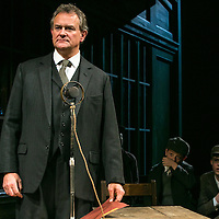 An Enemy of the People by Henrik Ibsen;<br /> Directed by Howard Davies;<br /> Hugh Bonneville as Dr Tomas Stockmann;<br />Alfie Scott as Ejlif;<br />Jack Taylor as Morten;<br /> Chichester Festival Theatre, Chichester, UK;<br /> 29 April 2016