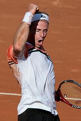 Rome, Italy 12/05/2007 - Tennis - Atp Masters Series - Internazionali d'Italia 2007. Filippo Volandri (ITA)
