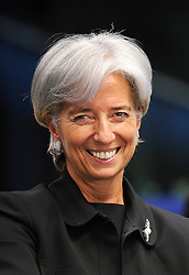 Christine Lagarde, director of the IMF. (Photo © Jock Fistick)