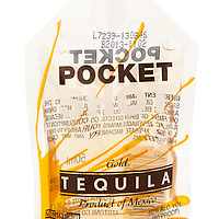 Pocket Shot Tequila Gold -- Image originally appeared in the Tequila Matchmaker: http://tequilamatchmaker.com