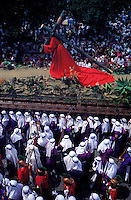 Guatemala, Antigua, Procession de la semaine sainte, Paques // Guatemala, Antigua, Easter, Procession of the Holy week