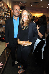 MARC QUINN and GEORGIA BYNG at the Natural Beauty Honours 2008 hosted by Neal's Yard Remedies, 124b King's Road, London SW3 on 4th September 2008.<br /> <br /> NON EXCLUSIVE - WORLD RIGHTS