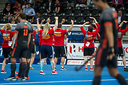 England v The Netherlands - Semi Final - Hockey World League Semi Final, Lee Valley Hockey and Tennis Centre, London, United Kingdom on 24 June 2017. Photo: Simon Parker