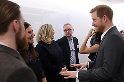 February 28, 2018 - London, London, United Kingdom - Image licensed to i-Images Picture Agency. 28/02/2018. London, United Kingdom.The Duke and Duchess of Cambridge, Prince Harry and Meghan Markle meet with panelists and beneficiaries at the first Royal Foundation Forum in London. Under the theme ÔMaking a Difference Together,Ã• the event  showcased the programmes run or initiated by The Royal Foundation. (Credit Image: © Rota/i-Images via ZUMA Press)